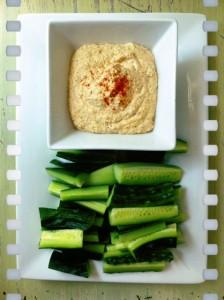 Raw Cayenne Hummus