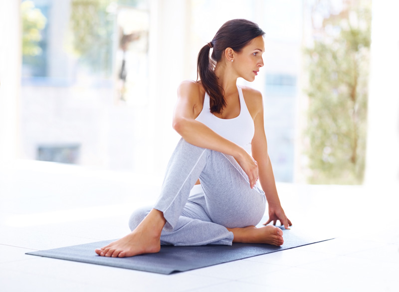 3 Yoga Poses for Digestion by Sesa O'Connor